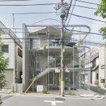 Дом в Токио гармонирующий с природой и городом